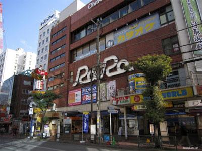 JR大森駅北口と駅ビル「RaRa」