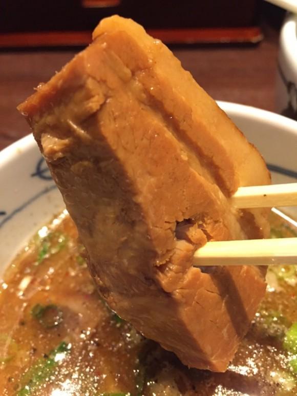 麺屋武蔵 蒲田店のつけ麺の濃厚なつけ汁は甘くて美味しいです