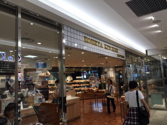 神戸屋キッチン 東急プラザ蒲田店の入口です