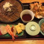 お寿司と天そばセット最高!蒲田寿司ランチ「築地日本海 蒲田店」