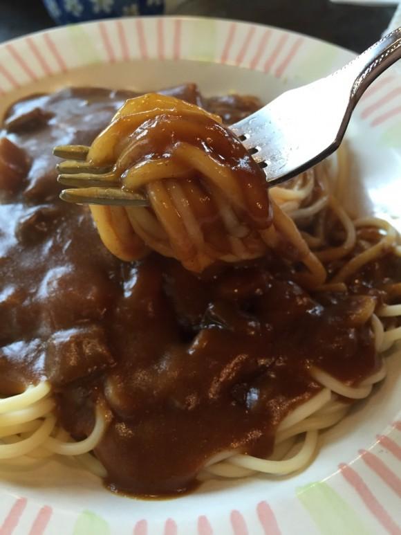 喫茶店「グッディ」の「カレースパゲティ」は美味しいです