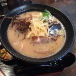細麺好きにピッタリ!蒲田ラーメンランチ「九州とんこつ 一基」