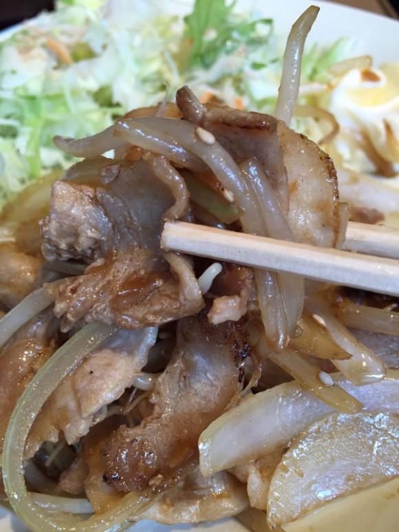 「やよい軒 蒲田店」のしょうが焼定食は美味しかったです