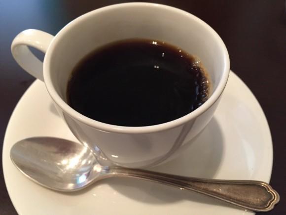 イタリアンレストラン「レ・ポルテ」のパスタランチにはコーヒーが付きます