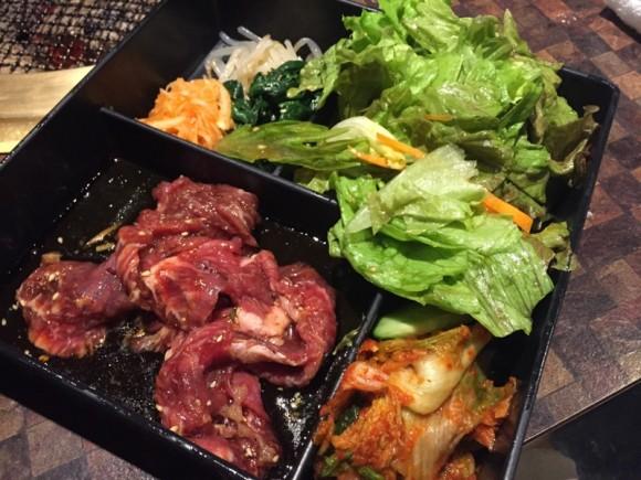 「炭火焼肉食道園 蒲田西口店」のAランチ「ハラミ」です