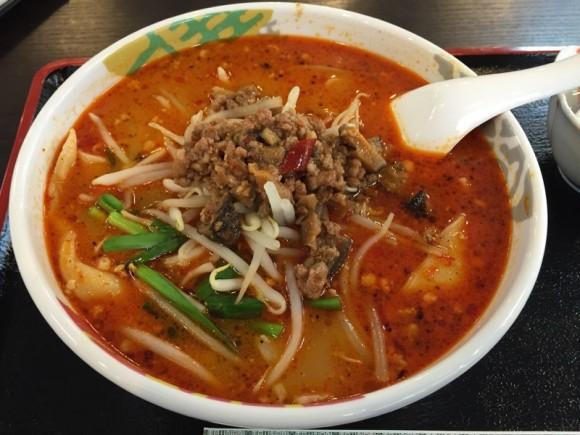 「台湾菜館 弘城 蒲田店」のランチ担々麺です
