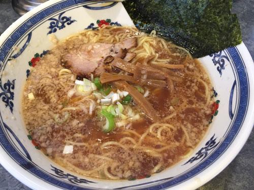 武蔵新田にある「らーめん 八快」のラーメンです