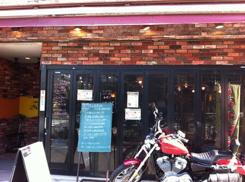 大森洋食ランチ「レストラン西堀」の外観です