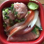 お刺身てんこ盛り!池上テイクアウト海鮮丼ランチ「丼丸水産 池上店」