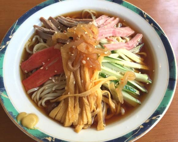 蒲田中華ランチ「中国料理店 春香園」の冷やし中華です