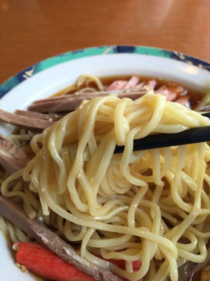 蒲田中華ランチ「中国料理店 春香園」の冷やし中華の麺はイマイチでした
