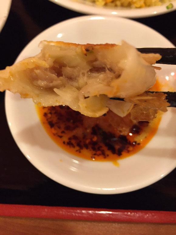 「ニイハオ 大森駅前店」餃子と半チャーハンセットの餃子は美味しいです
