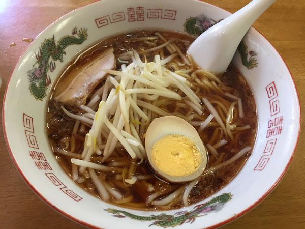 大森「中華料理 喜楽」のラーメンです
